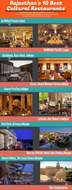 10 Best Cultural Restaurants of Rajasthan Umaid Bhawan Palace, Udaipur, Folk Music, Best Hotels, Indian Food Recipes, Are You The One, Restaurants, Around The Worlds, Culture