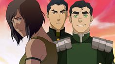 The Legend of Korra: Korra, Bolin and Mako on Book 4 - NYCC 2014. Comparing Avatar Korra and regular-girl Korra to our double selves, and how people come into their own power.