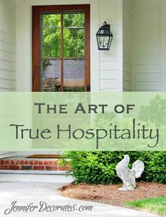 Have we lost the meaning of true hospitality?