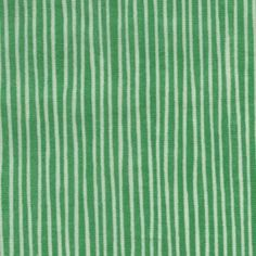 double gauze: green stripes