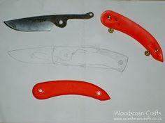Woodsman Crafts: Svord peasant knife rebuild - Yew handle