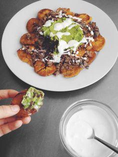 Loaded Nachos (Tostones) — paleo, gluten-free