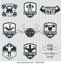 GYM Logo Stock Photos, Images, & Pictures | Shutterstock