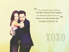 Mr. and Mrs. Downey.