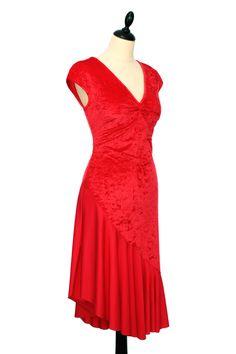 Fabuleuse Robe de Tango | Delightful Tango Dress by IRYNA Créations. Made in France. #robe #tango #argentin #dance # #dress #latin