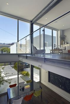 Janus House in San Francisco by Kennerly Architecture & Planning via @. HomeDSGN .