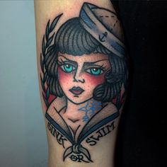 #tattoo #sailorgirltattoo #sailortattoo