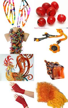 Treasury › Rainbow on steroids, hot, vibrant and intense... by elizabeth g shelton  --Pinned with TreasuryPin.com