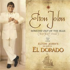 Elton John Someday Out Of The Blue Single.