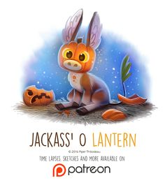 Day+1424.+Jackass+O'+Lantern+by+Cryptid-Creations.deviantart.com+on+@DeviantArt