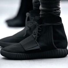 All Black Yeezy Boost