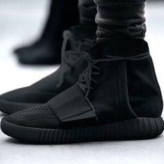 Adidas Yeezy Boost 750 - All Black http://fashionforfitness.de/yeezy-boost-350/