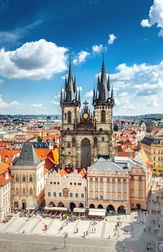 10 Awesome things to do in Prague: Old Town Square in Prague Czech Republic Travel Destinations Prague Photography, Scenic Photography, Night Photography, Landscape Photography, Places To Travel, Places To See, Travel Destinations, Prague Travel Guide, Prague Guide