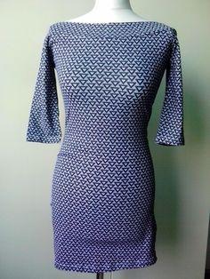 nowa sukienka we wzory atmosphere S/M - vinted.pl