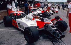 "Andreas Nikolaus ""Niki"" Lauda (AUT) (Marlboro McLaren International), McLaren MP4/1B - Ford-Cosworth DFV 3.0 V8 (1982)"