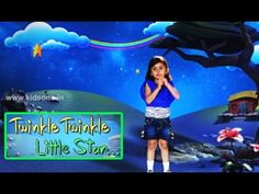 kids Rhymes: Twinkle Twinkle Little Star English 3D Animated Rh...
