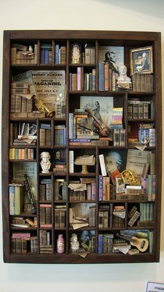 Miniature mini libraries thematic Classical Music by bagusitaly