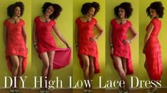 Learn 26 easy DIY dress design variations to sew for ladies in this free video playlist! From fun fringe dresses to a Beyonce-inspired look, you'll find a wide variety of DIY dress styles that will inspire you to sew. Diy Romper, Diy Dress, Sunmer Dresses, High Low Lace Dress, Stretch Lace Fabric, Valentines Day Dresses, Dress Tutorials, Sewing Tutorials, Colourful Outfits