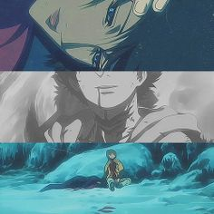 There's no need to worry. I'm not going anywhere. We can stay together like this forever. Blue & Hige, Wolfs Rain ;((((((