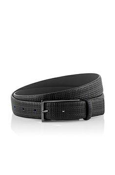 Vanzetti Donna Pelle Borchiato Cintura Belt Cintura in pelle Cintura da Donna Nero 40mm
