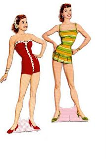 vintage paper dolls...oh how I loved paper dolls!