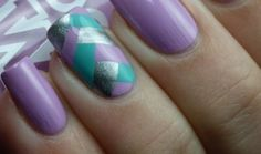 Nail Art With Braided Manicure