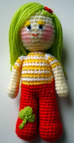 Amigurum Dolly by AllSoCute Amigurumis, via Flickr