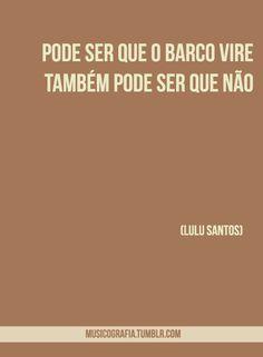 ♪♪ Lulu Santos