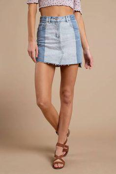 ae9d539a0b 42 Best TOBI DENIM images in 2019 | Mini skirts, Body con skirt ...