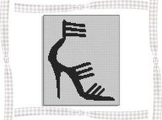 point de croix sur les chaussures de bébé - Pesquisa do Google