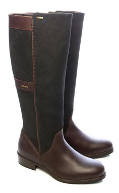 Dubarry Ladies Fermoy Gore-tex Leather BOOTS & Cheap for sale online Dubarry Boots, Gore Tex Boots, Country Outfits, Leather Boots, Riding Boots, Black And Brown, Stylish, Ebay, Accessories