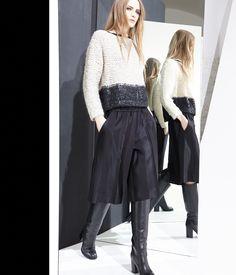 nude fashion knit-sweater abbigliamento maglieria bermuda moda style