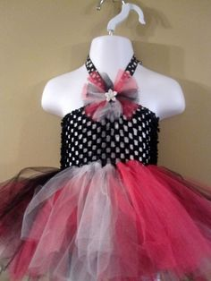 Gorgeous tutu dress 0-12mos - available for purchase @ www.facebook.com/gracelikerainbowtique OR www.etsy.com/shop/tmjoy728