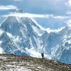 Karakaram Mountains Range Pakistan
