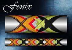 Fenix Cross Wrap Pattern step by step Custom Rod Building Cross Wrap Pattern Facebook Page