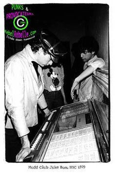 Mudd Club Jukebox ~ 1979
