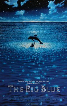 The Big Blue (1988) Original One-Sheet Movie Poster