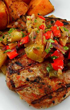 Beautiful Spiced Pork Chops Recipe