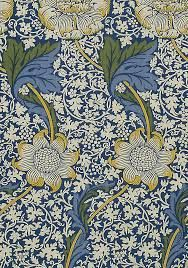 Image result for william morris wallpaper blue