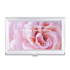 #professional - #BUSINESS CARD HOLDER ROSE PETALS CUSTOMIZE BUSINESS CARD CASE