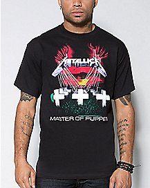 Master of Puppets Metallica T shirt