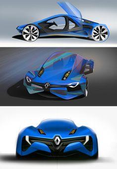Renault Fly Concept by Konrad Cholewka, via Behance