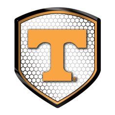 Tennessee Volunteers NCAA Reflector Decal Auto Shield for Car Truck Mailbox Locker Sticker College Licensed Team Logo | Tennessee Fan Gear