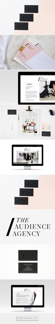 The Audience Agency PR Firm Branding by Smack Bang Designs | Fivestar Branding Agency – Design and Branding Agency & Curated Inspiration Gallery