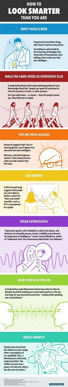 7 Tips to Look Smarter Updated
