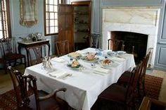 Interior of the Peyton Randolph House - Colonial Williamsburg