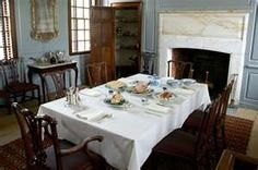 Interior of the Peyton Randolph House - Colonial Williamsburg