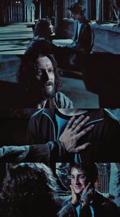 Harry and Sirius - Harry Potter and the Prisoner of Azkaban