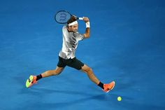 Australian Open 2017...the wait is over for his record extending 18th grand slam final...just wish it wasn't against my fave..Rafa!