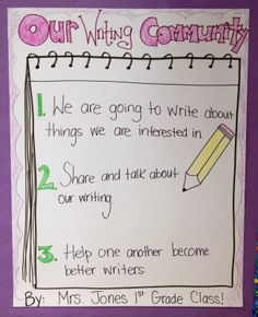 lucy calkins first grade info writing | Lucy Calkins - What do I do when I'm done?